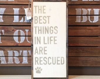 The Beat Things In Life Are Rescued Sign