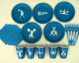 Cheer Leading Party Tableware Set for 5 People