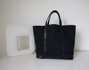 Black sequin bag