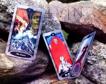 MAJOR ARCANA ONLY Vintage Horro Tarot Cards