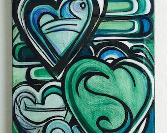 Green Heart Explosion