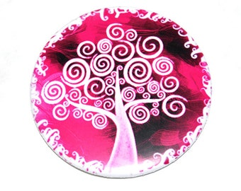 Tree of Life Button Badge (or magnet, bottle opener or pocket mirror)