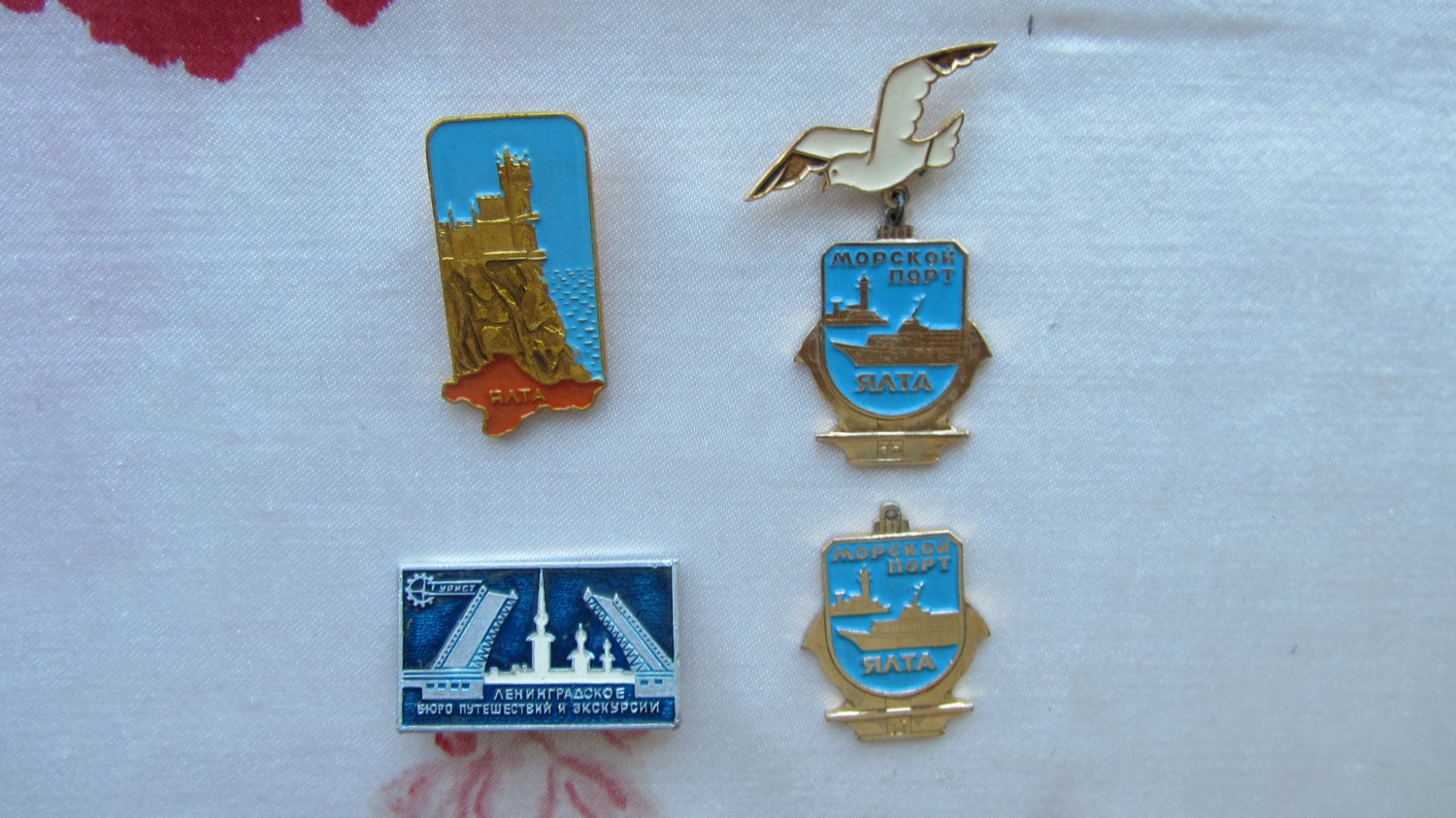USSR Sport and Tourism badges, Badge, Soviet Vintage metal collectible pin, Made