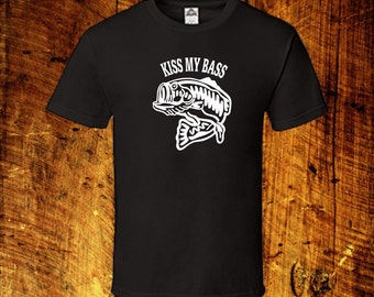 Kiss My Bass | up to 5XL | 6 dollar flat rate shipping