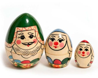 Nesting eggs Russian Family - kod98a