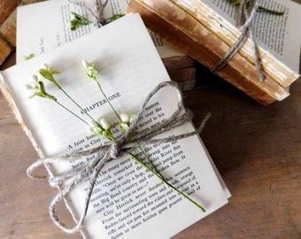 Rustic Book Stacks Rustic Wedding Centerpiece