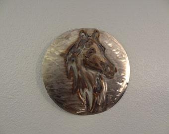 Horse - stainless Horse - Wall Art - Home Decor - Metal Art