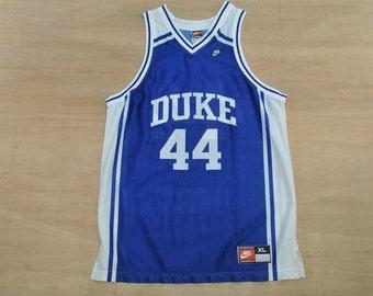 Duke Blue Devils - Size XL - Vintage Nike - NCAA College Basketball Jersey - Blue Devils University