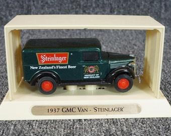 Vintage Matchbox Models Of Yesteryear 1937 GMC Van Steinlager Model Car C. 1993