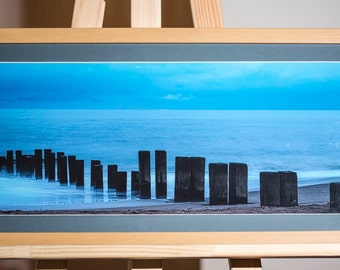 "Framed Print ""Breakers."""