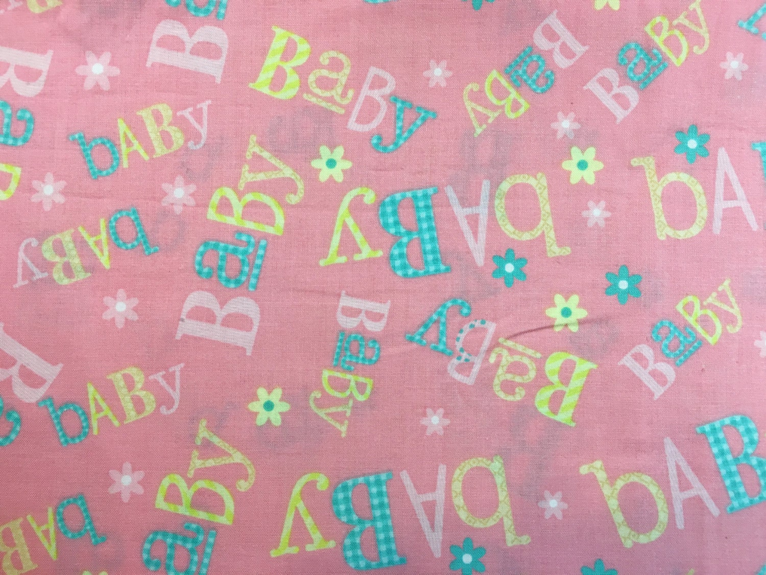 Baby cotton fabric baby material nursery fabric nursery for Nursery fabric uk