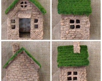"""NWT Fairy House, Fairy Garden House  5"""" tall x 3-1/4"""" wide x 2-1/2"""" deep"""