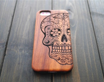 Skull iPhone 5 5s Case , Rosewood iPhone 5 5s Case , One Piece iPhone 5 5s Case
