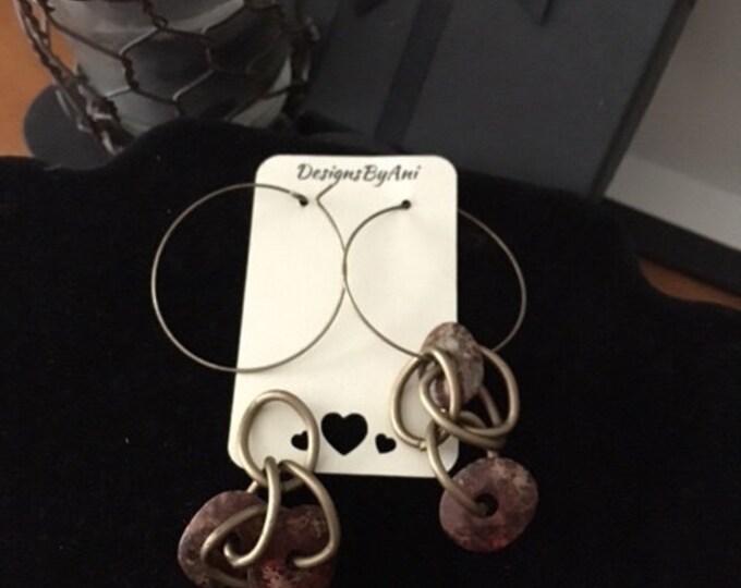 Interchangeable Hoop Earrings