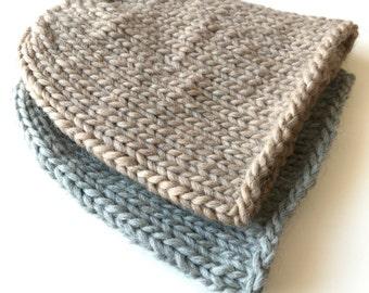 Pure wool beanie, chunky chunky knit hat, chunky hat, chunky beanie, wool beanie, chunky wool beanie, slouchy hat, chunky wool slouchy hat