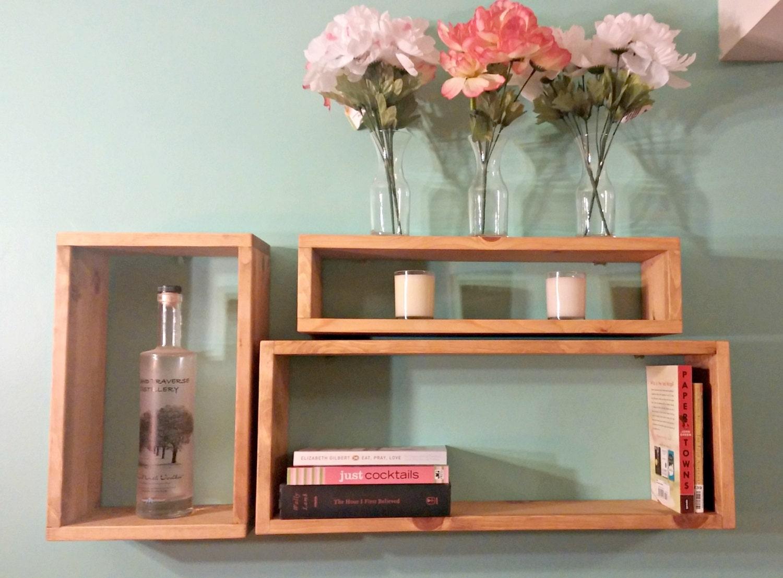 rustic wood shelves wood shadow boxes box shelves wall. Black Bedroom Furniture Sets. Home Design Ideas