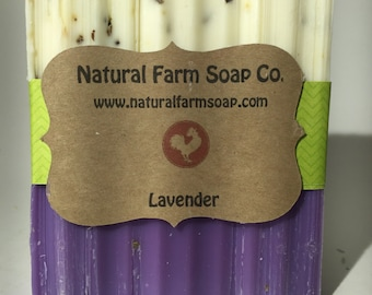 Lavender Soap Handcrafted-Natural Soap-Artisan Soap
