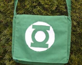 Green Lantern Messenger Bag (Reversible)