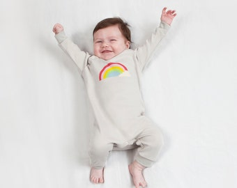 Rainbow baby clothes - Etsy UK