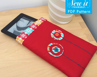 Poppy Kindle case PDF Pattern