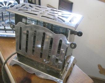 Toaster Vintage Art Deco , Kitchen Appliance