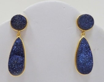 DRUZY EARRINGS