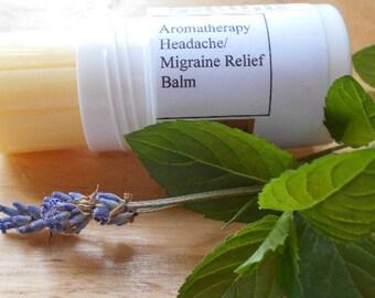Headache Migraine Relief Balm, Aromatherapy Headache Migraine Stick, two sizes help relieve pain .
