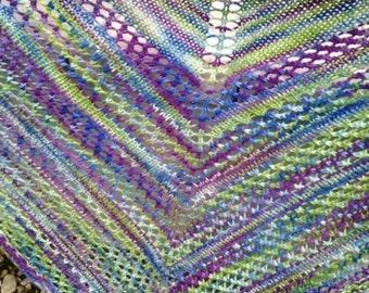 Shawl/triangular scarf