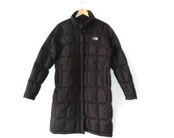 North Face womens long puffa coat