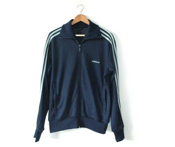 Adidas Blue classic track top