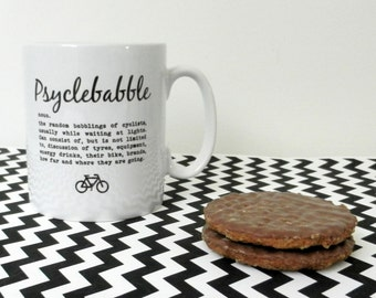Cycling Mug - Psyclebabble