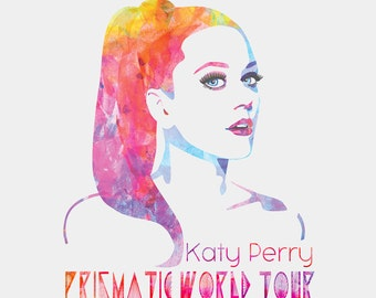 Katy Perry Prismatic Tour - T-Shirt  or Bodysuit