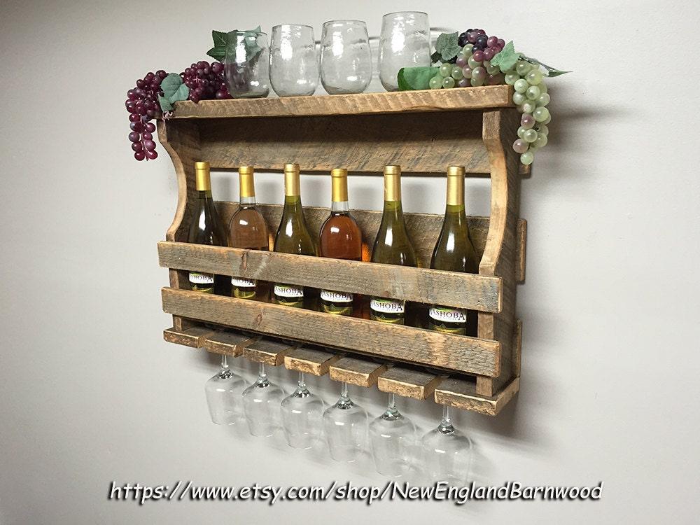 Wall mount wine rack wine rack wall mount wine racks rustic for Wall mount wine rack