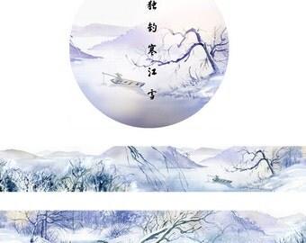 20mm Washi Tape Masking Tape snow