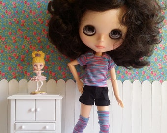 Set of shirt and stockings for Blythe and Pure Neemo