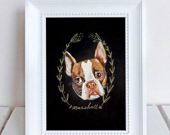 Custom Pet Portrait   (8x10)