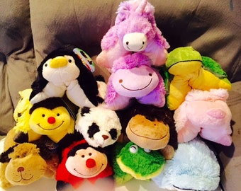 NEW Pee Wee PILLOW PETS. Monogrammed Free !!!!!!!!! With Tags..