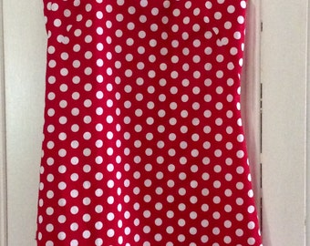 Retro Polka Dot Shift Dress