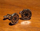 Star Wars Imperial Cog Cufflinks Palpatine Sith Emperor Darth Vader New Order Imperium Jedi FIrst Order Kylo Ren Dark Side 501st Death Star