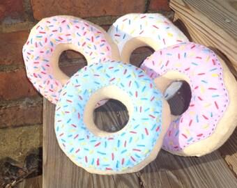 Donut plushies