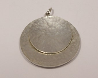 Hand Made Pendant in 925 Sterling Silver