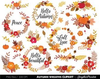 Flower Wreaths Floral Clipart Wedding floral Clip art Floral Bouquet Clipart wedding flowers clip art Floral Frame