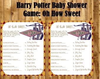 Harry Potter Baby Shower Invitation Harry Potter Baby Shower