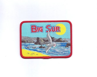 Vintage Big Sur California with Seagull Patch