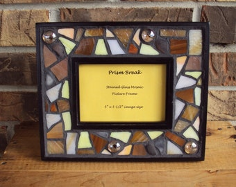 Stained Glass Mosaic Picture Frame
