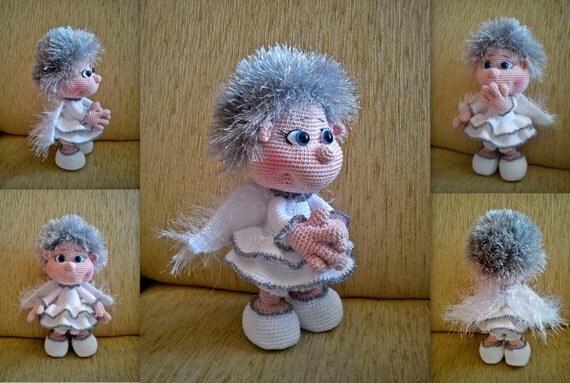 Amigurumi Angel Doll : Elf Angel Doll PATTERN crochet amigurumi by sandy27crochet
