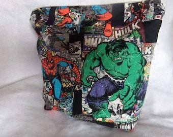 Marvel Avengers medium zippered project bag