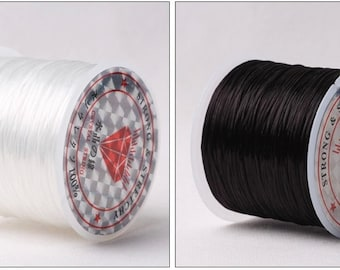 0.8 mm Elastic Thread Wire, Elastic Thread Cords, 1 pcs