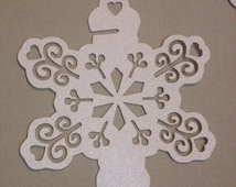 Snowflake Glass Place Cards Wedding Christmas Decoration Table Place Cards
