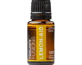 Lemon-Aid - Uplifting Essential Oil Blend 15 ml - 100% Pure